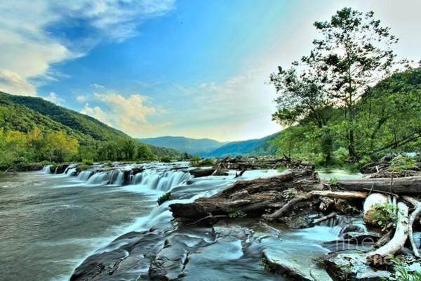 Photograph - Sandstone At New River by Adam Jewell