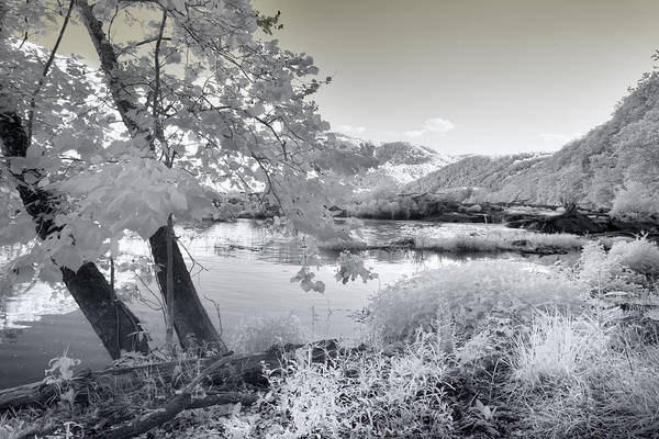 Photograph - Sandstone Falls by Mary Almond