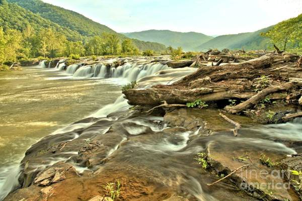 Photograph - Sandstone Falls Valley by Adam Jewell