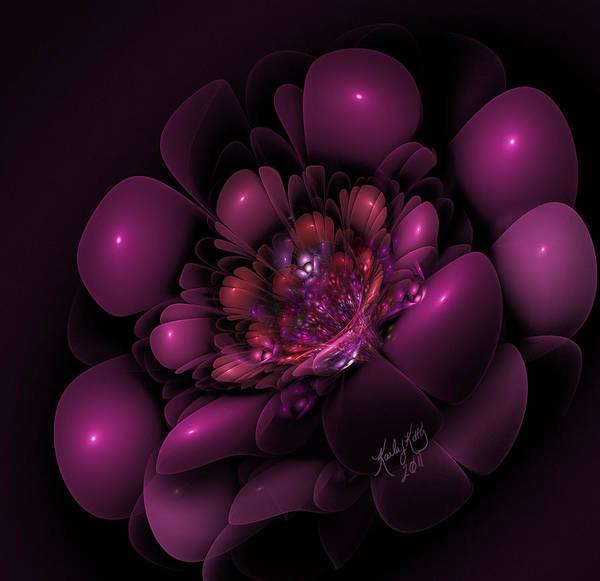 Digital Art - Sangria by Karla White