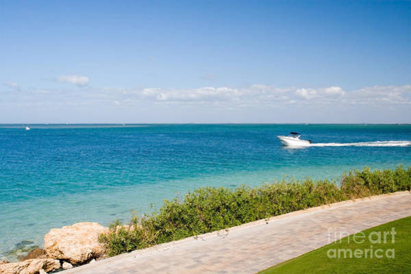 Powerboat Photograph - Sanibel Island Florida Ocean Powerboat by ELITE IMAGE photography By Chad McDermott