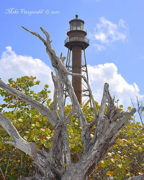 Photograph - Sanibel Marker by Mike Fitzgerald