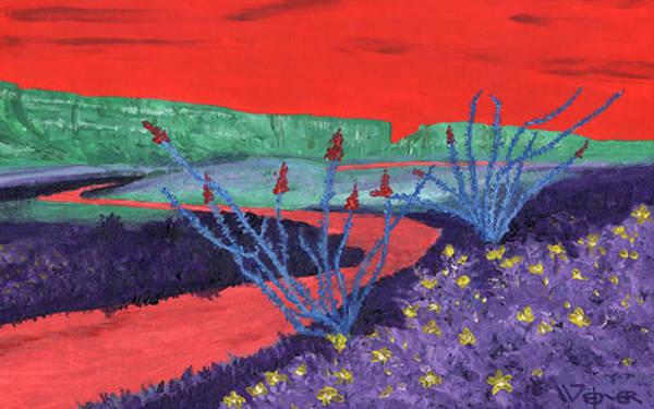 Wall Art - Painting - Santa Elena Canyon by Randall Weidner