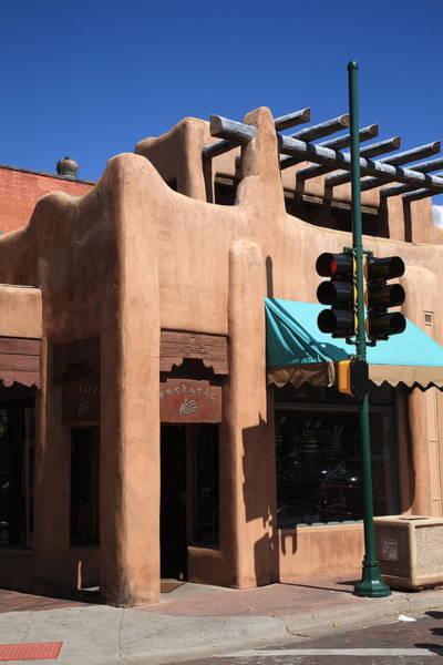 Photograph - Santa Fe Adobe Shop by Frank Romeo