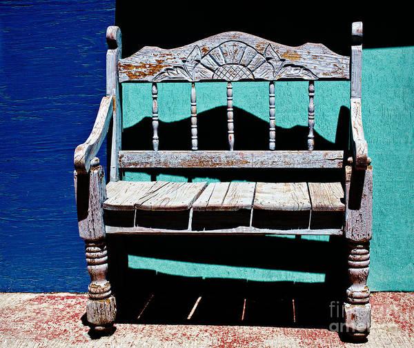 Photograph - Santa Fe Chair by Elena Nosyreva