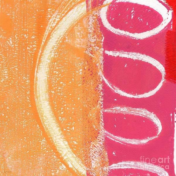 Curves Painting - Sante Fe Sunrise by Linda Woods