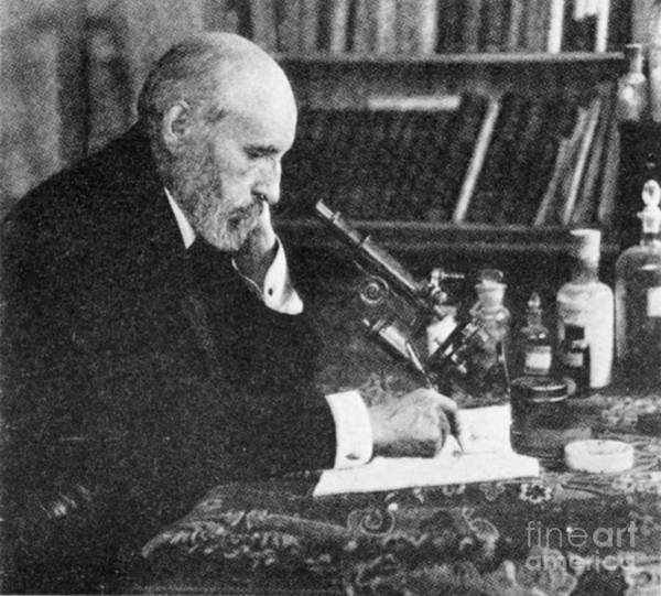 Photograph - Santiago Ramon Y Cajal, Spanish by Science Source