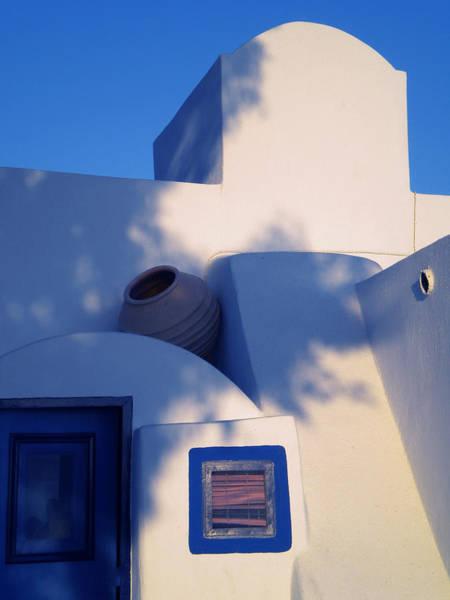 Photograph - Santorini Island Greece  Architecture by Colette V Hera  Guggenheim