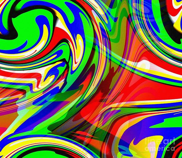 Wall Art - Digital Art - Sari by Ricardo G Silveira