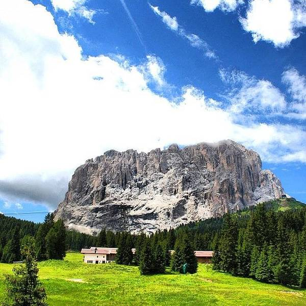 Mountain Wall Art - Photograph - Sasso Lungo by Luisa Azzolini