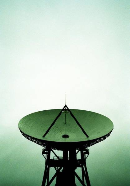 Satellite Receiver Photograph - Satellite Dish by Kevin Curtis