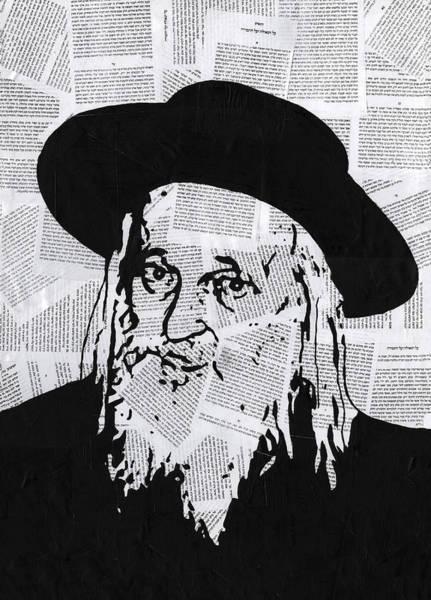 Wall Art - Painting - Satmar Rebbe by Anshie Kagan