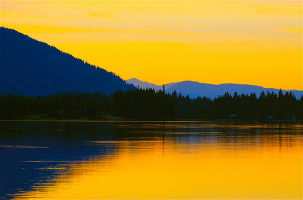 Wall Art - Photograph - Saturated Sunset by Karon Melillo DeVega