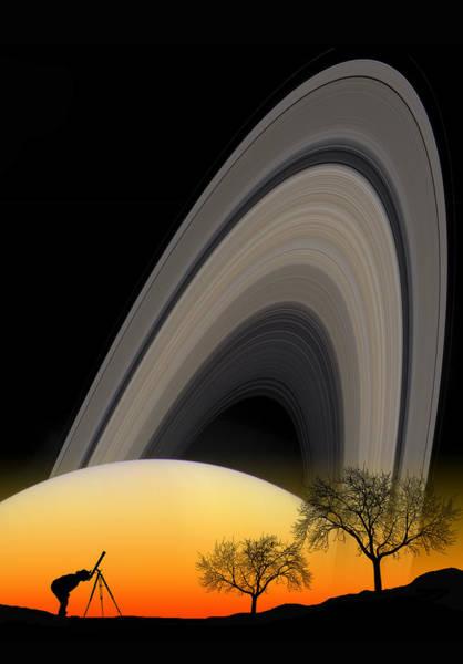 Photograph - Saturn View 2 by Larry Landolfi