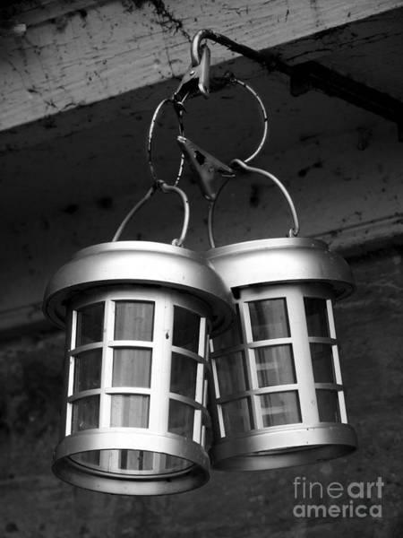 Photograph - Saugerties Lighthouse Lanterns Photograph by Kristen Fox