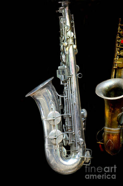Choral Wall Art - Photograph - Saxophone by Charuhas Images