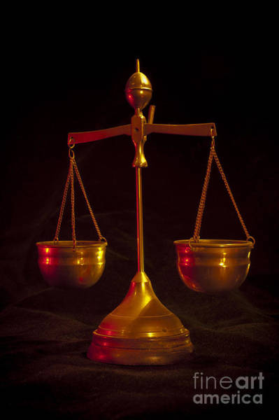 Wall Art - Photograph - Scales Of Justice by Donald Davis