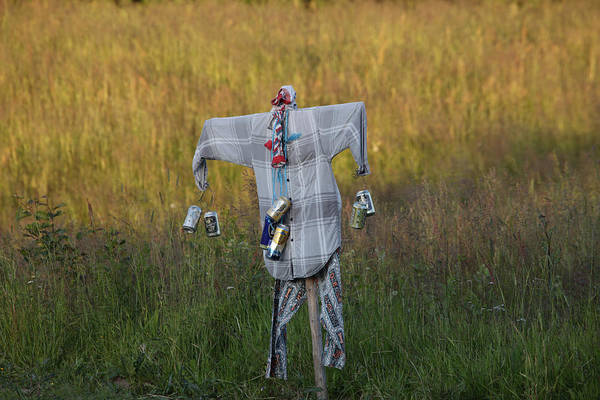 Ragamuffin Photograph - Scarecrow by Ulrich Kunst And Bettina Scheidulin