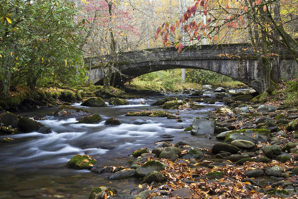 Photograph - Scenic Bridge Great Smoky Mountains National Park by Pierre Leclerc Photography