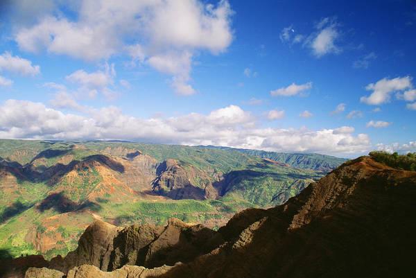 Expanse Photograph - Scenic Waimea Canyon by Carl Shaneff - Printscapes