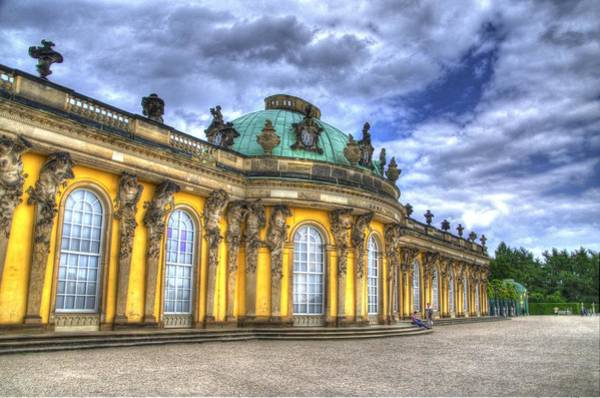 Garten Wall Art - Photograph - Schloss Sanssouci     Berlin by Jon Berghoff