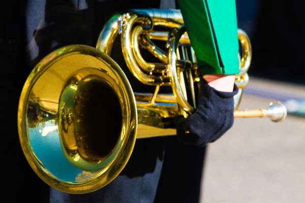 Photograph - School Band Horn by James BO Insogna