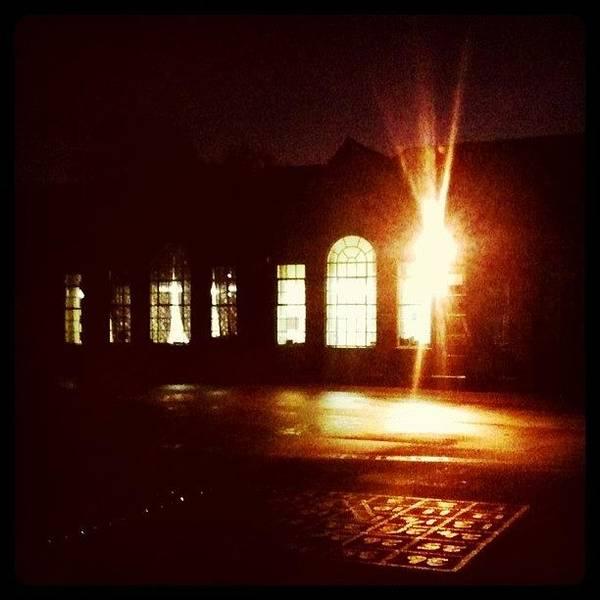Norfolk Photograph - #school By #night #stickygrams #street by Just Berns
