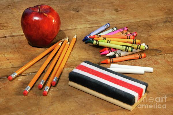 Photograph - School Supplies  by Sandra Cunningham