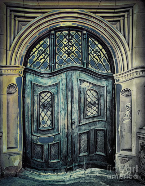 Photograph - Schoolhouse Entrance by Jutta Maria Pusl