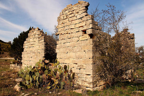 Photograph - Schoolhouse Ruin by Sarah Broadmeadow-Thomas