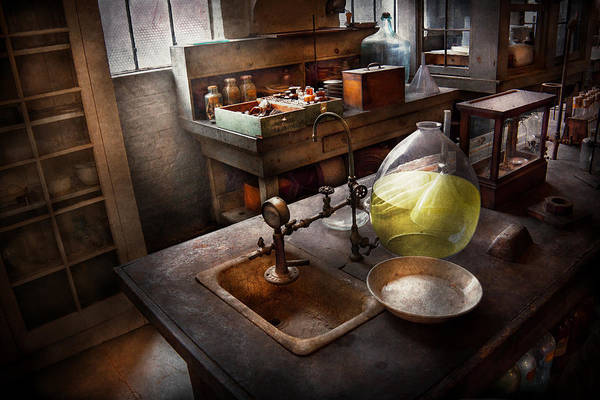 Photograph - Science - Chemist - Scientific Discoveries  by Mike Savad