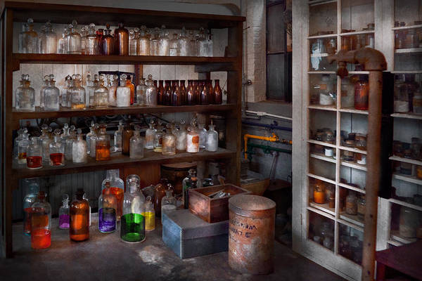 Photograph - Science - Chemist - The Secret Of Life by Mike Savad