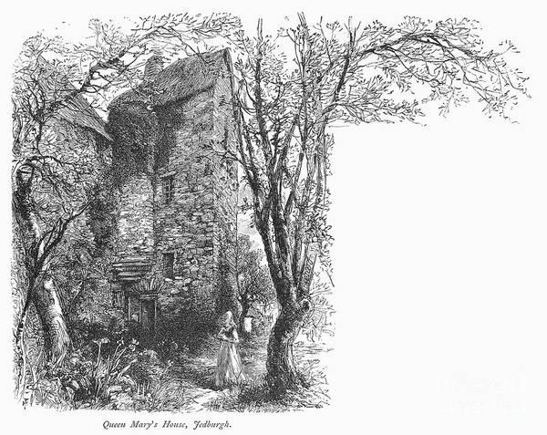 1566 Photograph - Scotland: Jedburgh House by Granger