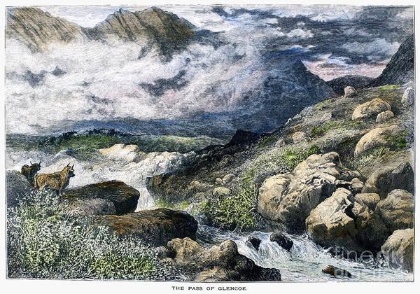 Photograph - Scotland: Pass Of Glencoe by Granger