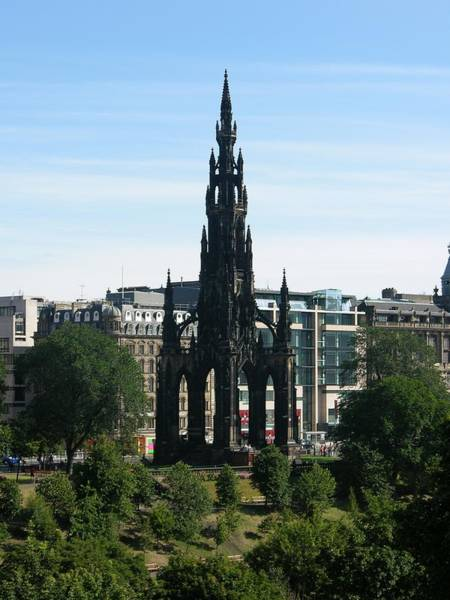 Photograph - Scott Monument by Keith Stokes