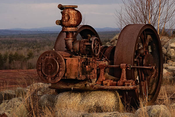 Steam Engine Photograph - Scrap Me Not by Susan Capuano