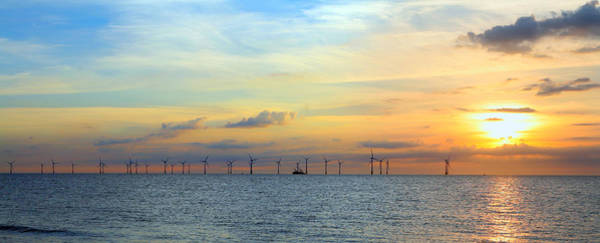 Photograph - Scroby Sands Windfarm Sunrise by Paul Cowan