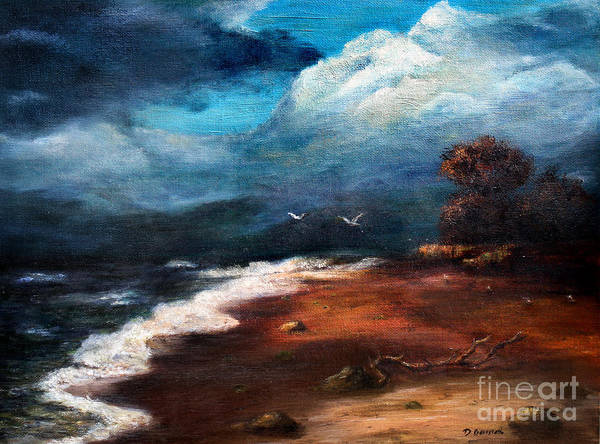 Baltic Sea Painting - SEA by Danuta Bennett