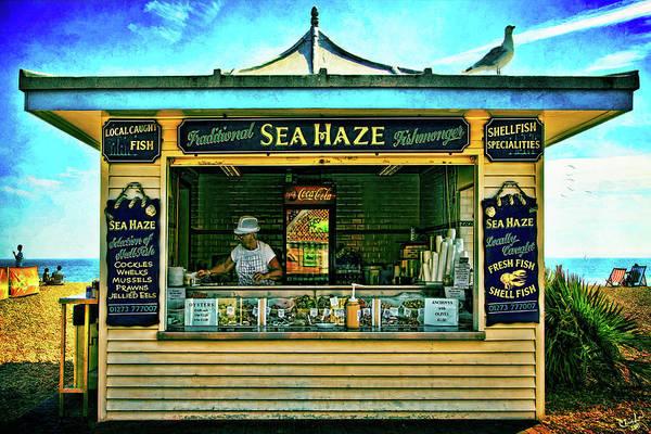 Photograph - Sea Haze by Chris Lord