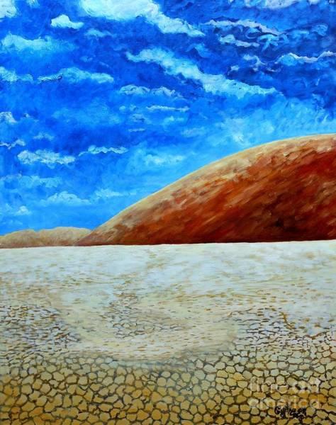 Desolation Painting - Sea Of Sand by Caroline Street