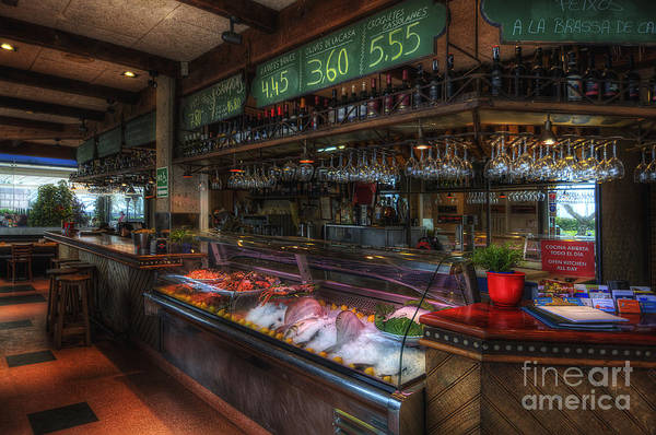 Photograph - Seafood Bar by Yhun Suarez