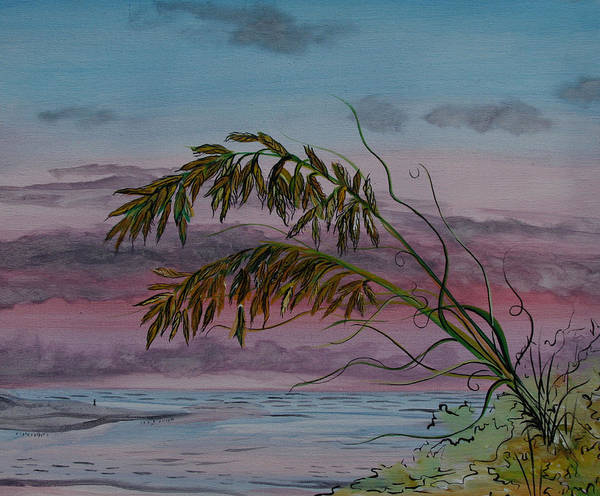 Painting - Seaoats by Virginia Bond