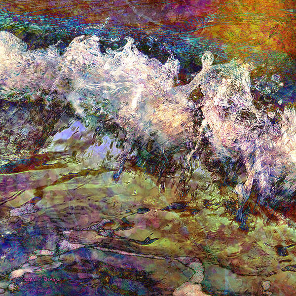 Digital Art - Seascape by Barbara Berney