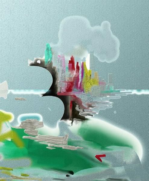 Digital Art - Seascape Detail by Eugene Foltuz