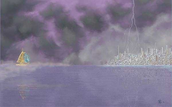 Digital Art - Seascape Dreams by Tony Rodriguez