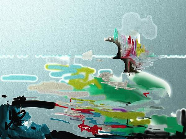 Digital Art - Seascape by Eugene Foltuz
