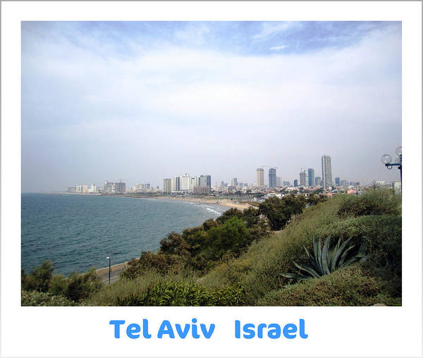 Photograph - Seaside Paradise  Tel Aviv Israel by John Shiron