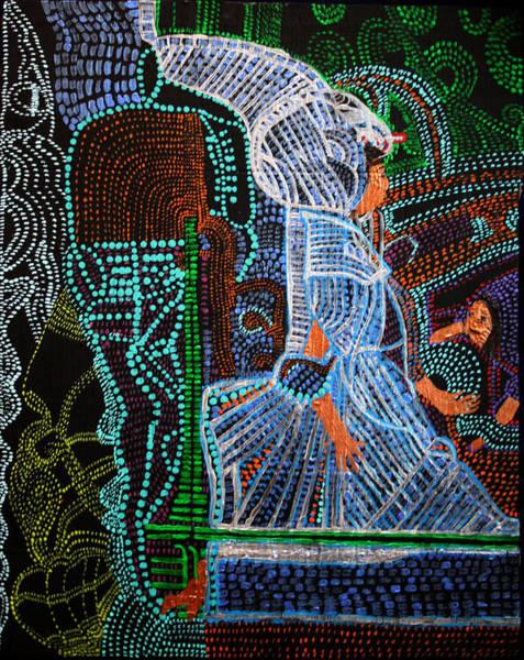 Painting - Seat Of Wisdom by Gloria Ssali