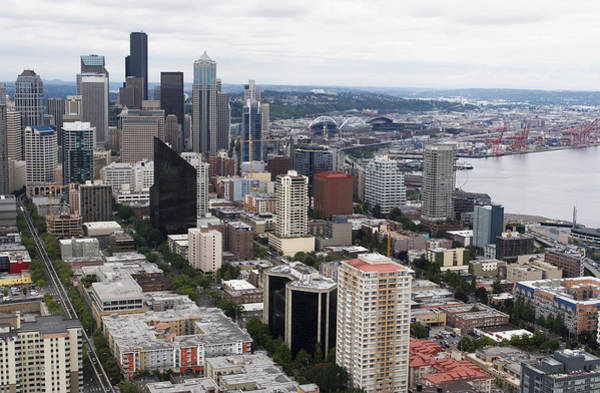 Photograph - Seattle From The Needle by Lorraine Devon Wilke