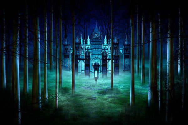 Victorian House Digital Art - Secret Castle by Svetlana Sewell